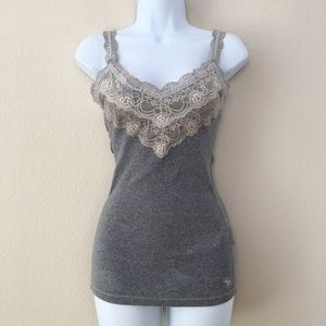 Abercrombie - Embroided Top/Cami